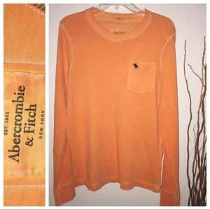 NWOT Men's Abercrombie and Fitch Long Sleeve Shirt